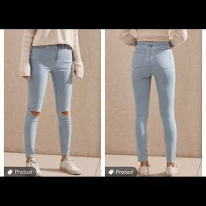 pacsun super high rise jegging new with tags